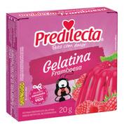 Gelatina Em Pó Framboesa 20g Predilecta