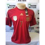 Camisa Espanha Copa Do Mundo 2014 Numero 7