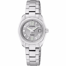 Reloj Citizen Eco-drive Titanium Ew2101-59a Time Square