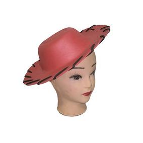 Sombrero De Vaquero En Foami Rojo