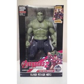 Figura De Accion Hulk Con Brazos Y Piernas Articulables.