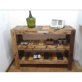 Mueble para zapatos zapateros en mercado libre argentina for Mueble zapatero artesanal