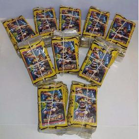 100 Pacotes Fechados = 400 Lote Cards Clash Royale