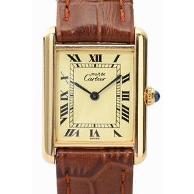 0a2457c0356 Relógio Les Must De Cartier Paris Baixei Para Vender - Relógios no ...
