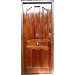 Puerta Cedro Macizo Nacional 2 Vs.modelos M.madera