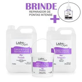 Kit Para Cabeleireira Lavatório Mandioca Light Hair + Brinde