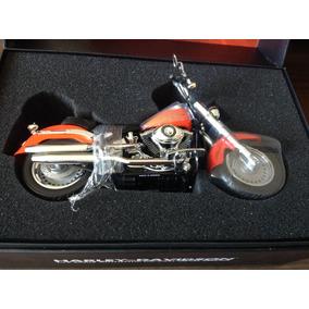 Moto Harley Davidson 1:12 Perfeita - Com Certidão E Nota