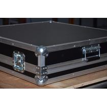 Hard Case Mesa De Som Tascam Dm3200 Com Pés Na Tampa E Rodas