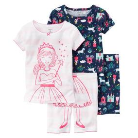 Pijama Pijamas Niña Bebe Carter Carters 2 Cambios