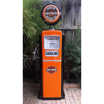 Harley Davidson Bomba De Gasolina Antiga Bennett (réplica)