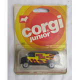 Camioneta Corgi Juniors, Fire Ball, En Su Blister Original