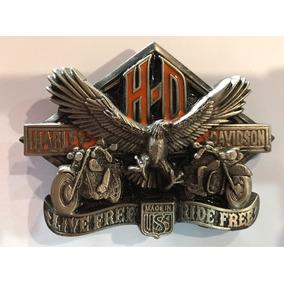 Fivela Harley Davidson Original Americana Rara