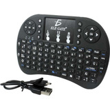 Mini Teclado Usb Videojuegos Smart Tv Laptop Tablet