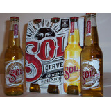 Cerveza Mexicana Sol En Porrón Pack De 6 X 330cc. Oferta