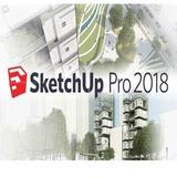 Sketchup Pro 2018 Para Mac + Vray + Materiales + Componentes
