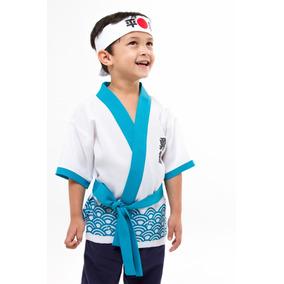 Mini Kimono Infantil Menino Happy Oriental