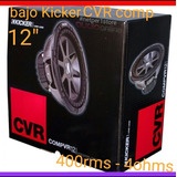 Bajo Kicker Cvr 12 Compvr..original!!