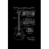 Combo 3 Láminas Blueprints Esquema Guitarra Fender 40 X 60