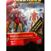 Hasbro, Iron Man 2, Iron Man Mark 6 With Power Up Glow