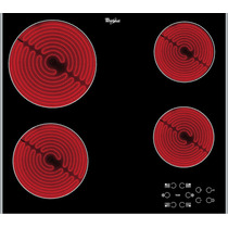 Anafe Whirlpool Vitrocerámico 4 Focos Akt8090l Italiano