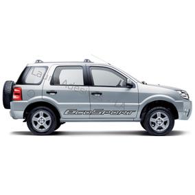 Adesivo Kit Faixa Lateral Ford Ecosport Tuning Carro Sticker