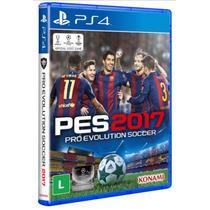 Pro Evolution Soccer 2017 Ps4 - Pré Venda 13/09 Mídia Física