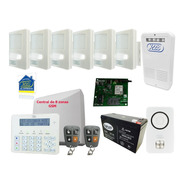 Kit Alarma X28 Domiciliaria Full Gsm