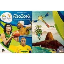 Album Capa Dura Completo Olimpiadas Rio 2016 Frete Gratis