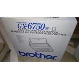 Maquina De Escribir Brother Portatil Gx-6750sp