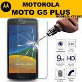Película De Vidro Antishock Celular Moto G5 Plus Xt1683