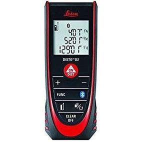 Medidor De Distancia Leica Disto D2 330ft Laser Bluetooth