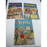 Lote De 3 Comic De Pepito La Prensa 60`s 147,191 Y 232