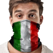 Bandana Balaclava Lenço Bandeira Italia Pesca Metal 002