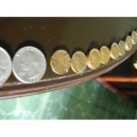 Moneda Cobre Centavo De Lincoln 1913 Denver Trigo