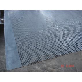 Lámina Perforada Acero Galvanizado Calibre 14