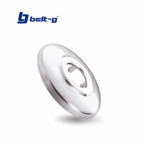 Roseta 1/2 ( Acero Inoxidable ) Belt-g Gri-0089