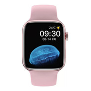 Relógio Inteligente Smartwatch Iwo Hw22 Pro Original Rosa
