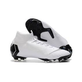 Chuteira Nike Mercurial Superfly 4 Black - Chuteiras Branco no ... b53a52a3c2add