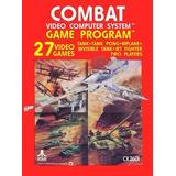 Juego Combat Atari 2600, En Caja Y Cubierta Plastificada