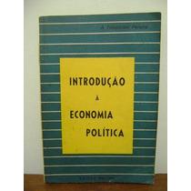 Livro Introdução À Economia Política Temperani Pereira 1954