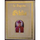La Sagrada Biblia San Rafael Guízar Dorada Seminueva.