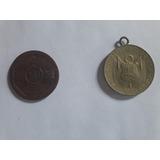 Medallas Licenciamiento Ejercito Peruano De 1949 Y 1954
