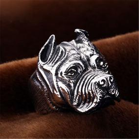 Fabuloso Anillo Perro Pit Bull , Acero 316 L