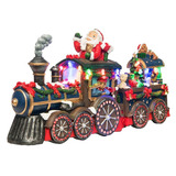 Accesorio Decorativo Starhaus Holidays Tren Santa Pm-4813863