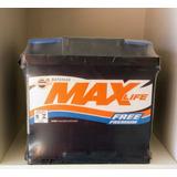 Bateria 50ah Max Life Hb20, Onix, Idea