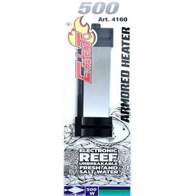 Termostato Acero Inoxidable Acuario Pecera 500 Watts 4160