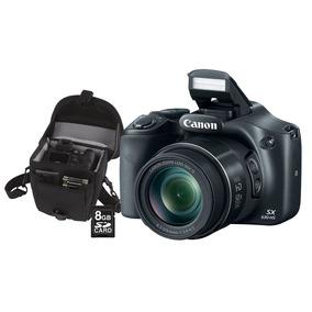 Câmera Canon Sx530hs 16mp Wi-fi + Estojo + Sd 8gb