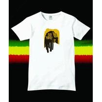 Reptilia Remeras Reggae Bob Marley (código 04)