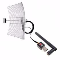 Kit Cliente Antena Internet Usb Completa Internet Via Radio