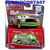 Disney Cars Chick Hicks 86 Verde Rival Mcqueen + 300 Modelos
